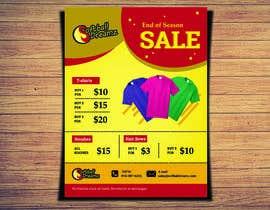 #7 para Need Flyer Designed for Sports Apparel Sale de kmanojkumars