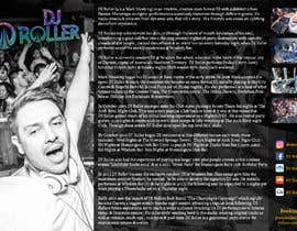 #17 for Design a DJ Biography Page. by gnalini01