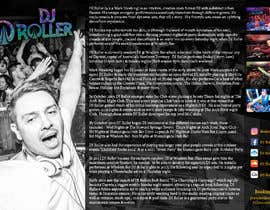 #20 for Design a DJ Biography Page. by gnalini01