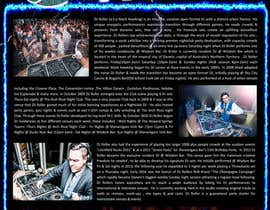 #13 for Design a DJ Biography Page. af feramahateasril