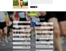 nº 18 pour Website Design for Classy/Sporty Water Bottle Design par usaithub