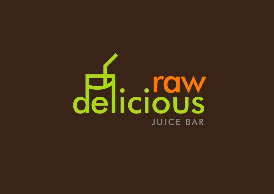 Proposition n°                                        3                                      du concours                                         Logo Design for Delicious Raw