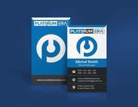 #428 for Design Business Card for Platinum Era Club by iqbalsujan500
