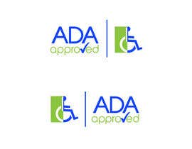 #265 para Logo Design for ADA Approved por Noc3