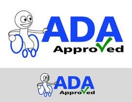 #258 para Logo Design for ADA Approved por bernatscott