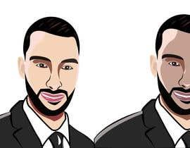 Nro 37 kilpailuun Illustrate/Draw Portrait in a cartoonish way käyttäjältä freelancing639