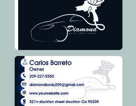 #43 for logo/business card for Automotive body/ paint shop by nayu114