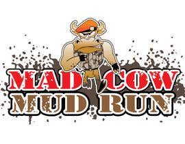 #105 para Logo Design for Mad Cow Mud Run por HimawanMaxDesign