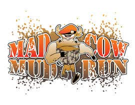 #118 para Logo Design for Mad Cow Mud Run por HimawanMaxDesign