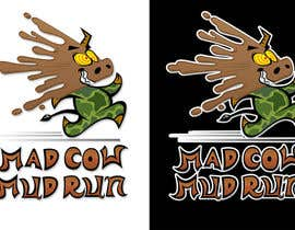 #95 pentru Logo Design for Mad Cow Mud Run de către farhoodfarmand