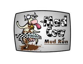 #102 para Logo Design for Mad Cow Mud Run por mehdiafter