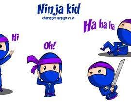 #48 for Kids Ninja Illustration af stants
