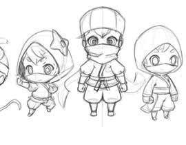 #66 for Kids Ninja Illustration af Milos009