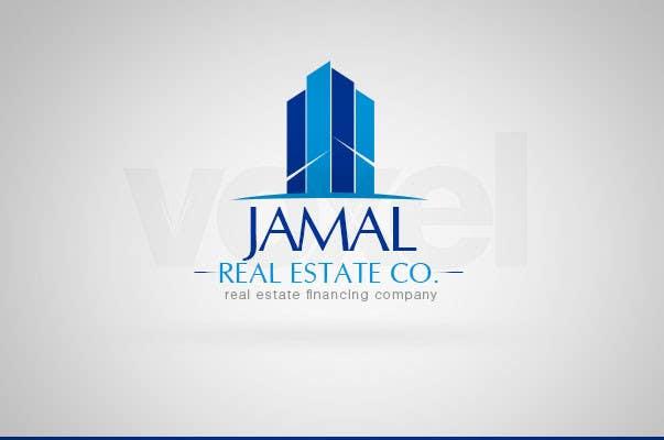 #28 for Logo for Jamal Real Estate Co. by VoxelDesign