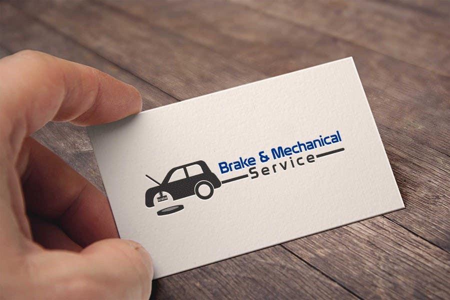 Penyertaan Peraduan #                                        1                                      untuk                                         Design a Logo for Brake & Mechanical Service