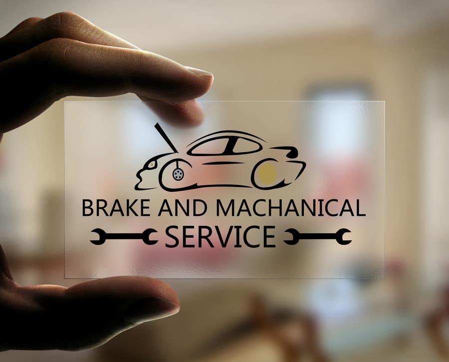 Penyertaan Peraduan #                                        17                                      untuk                                         Design a Logo for Brake & Mechanical Service