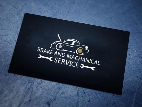 Penyertaan Peraduan #                                        18                                      untuk                                         Design a Logo for Brake & Mechanical Service