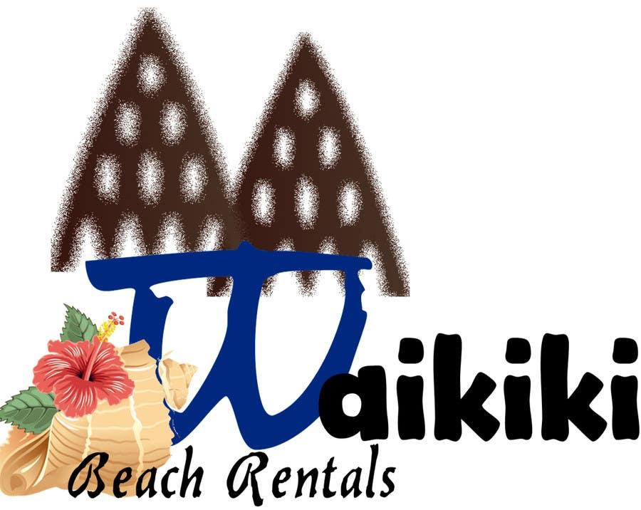 Конкурсная заявка №31 для Logo Design for WaikikiBeachRentals.com