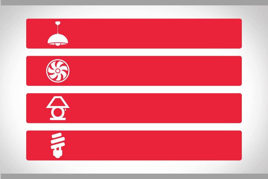 Proposition n°67 du concours Illustration Category Header/Tile Design for Coronet Lighting
