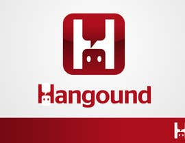 nº 4 pour Logo design for Hangound (hangound.com), a new web social network based in NY. par benpics