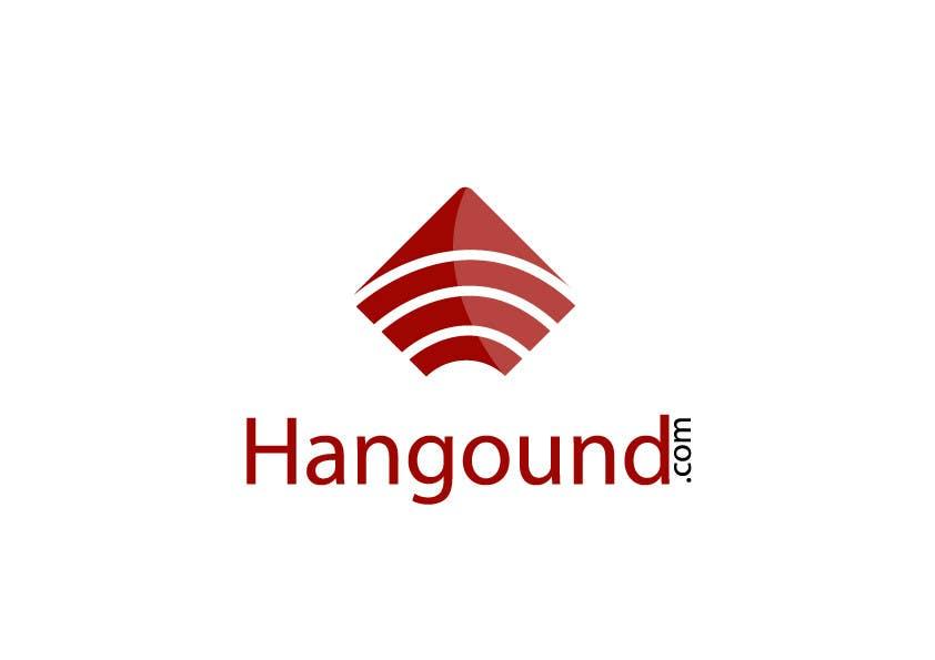 Konkurrenceindlæg #23 for Logo design for Hangound (hangound.com), a new web social network based in NY.
