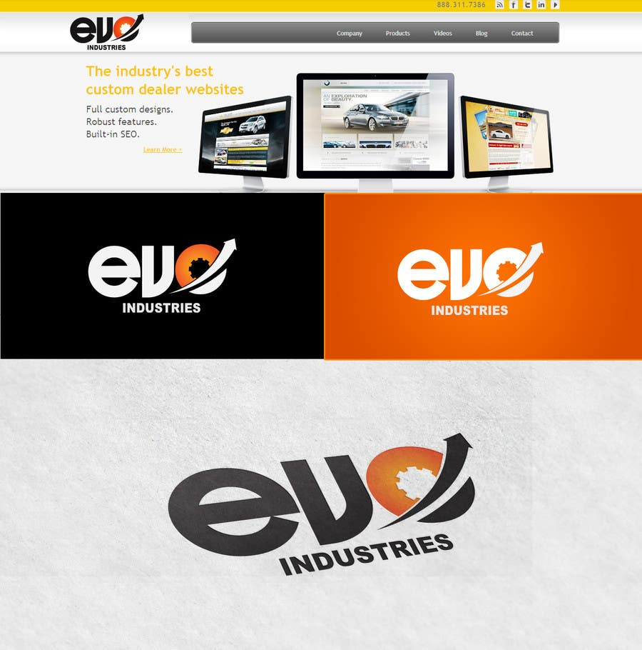 #241 for Logo Design for EVO Industries by vinayvijayan