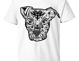 #38 for Tribal Pit Bull Dog by luporojo