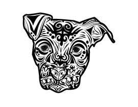#39 for Tribal Pit Bull Dog by luporojo