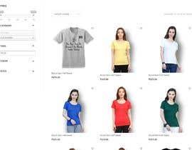 chiku789 tarafından ecommerce website mockup için no 50