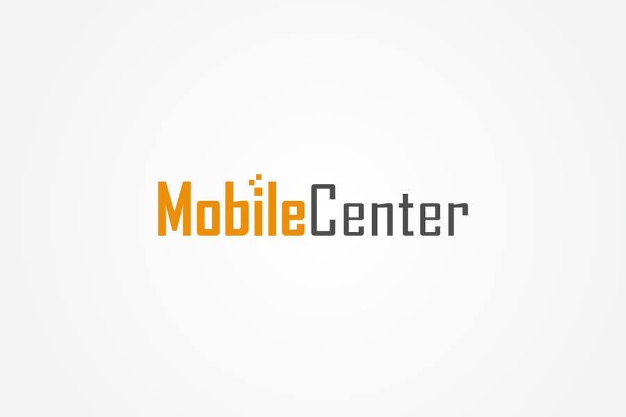 Penyertaan Peraduan #597 untuk Mobile Center (or) Mobile Center Inc.