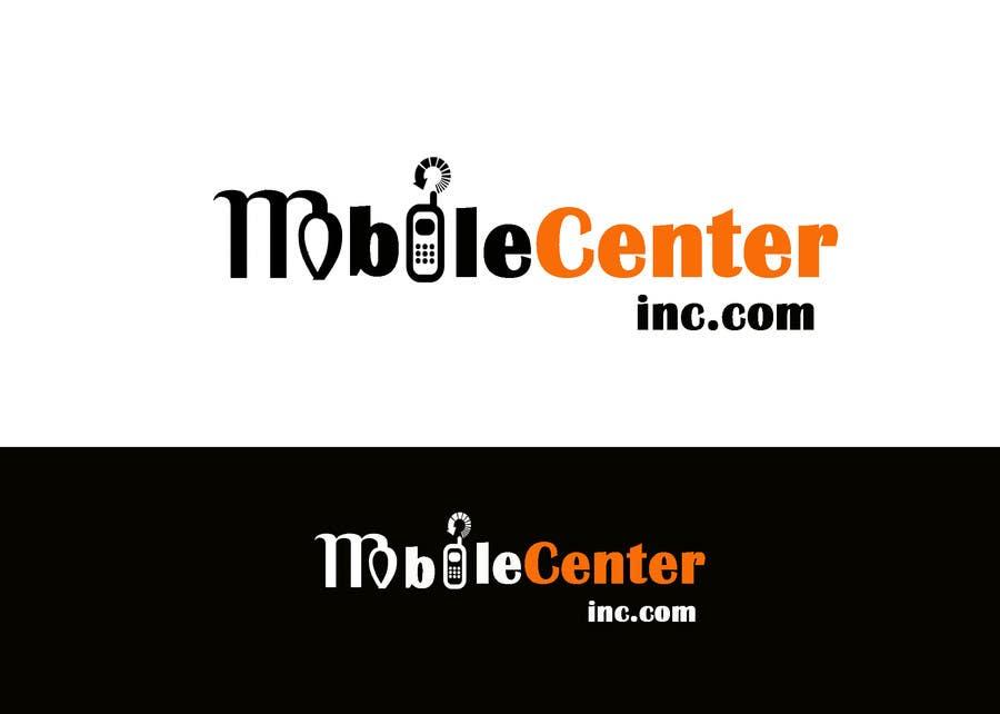 Penyertaan Peraduan #545 untuk Mobile Center (or) Mobile Center Inc.