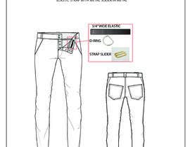 #13 for Design a Fashionable Jeans (Long-Term Work) by liubamunger