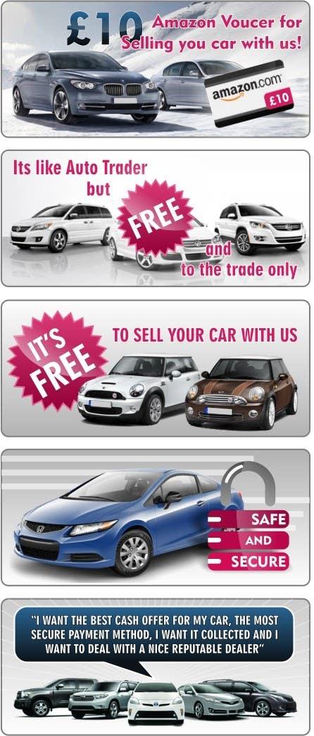 Конкурсная заявка №37 для Graphic Designs for Car Selling Website