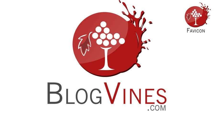 Inscrição nº                                         2                                      do Concurso para                                         Design a Logo for my wine blog website