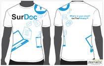 Graphic Design Inscrição do Concurso Nº24 para ***T-SHIRT*** for SurDoc.com - Bold, modern, innovative, fresh!!!