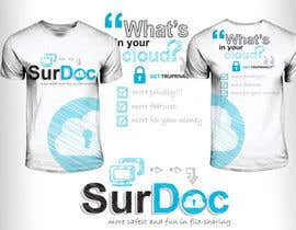 #41 for ***T-SHIRT*** for SurDoc.com - Bold, modern, innovative, fresh!!! af EzaiLX