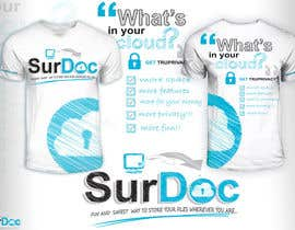 nº 87 pour ***T-SHIRT*** for SurDoc.com - Bold, modern, innovative, fresh!!! par EzaiLX