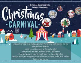 nº 87 pour Design Christmas Carnival Marketing Material par ziedarchi