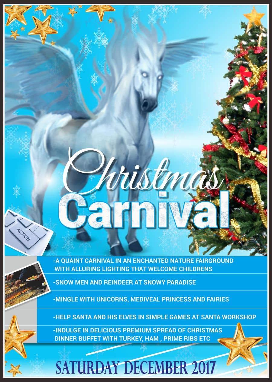 Příspěvek č. 41 do soutěže Design Christmas Carnival Marketing Material