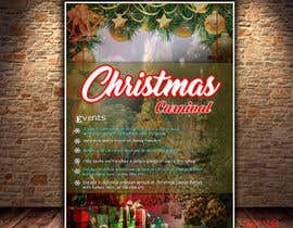 nº 84 pour Design Christmas Carnival Marketing Material par sifatmirza1311