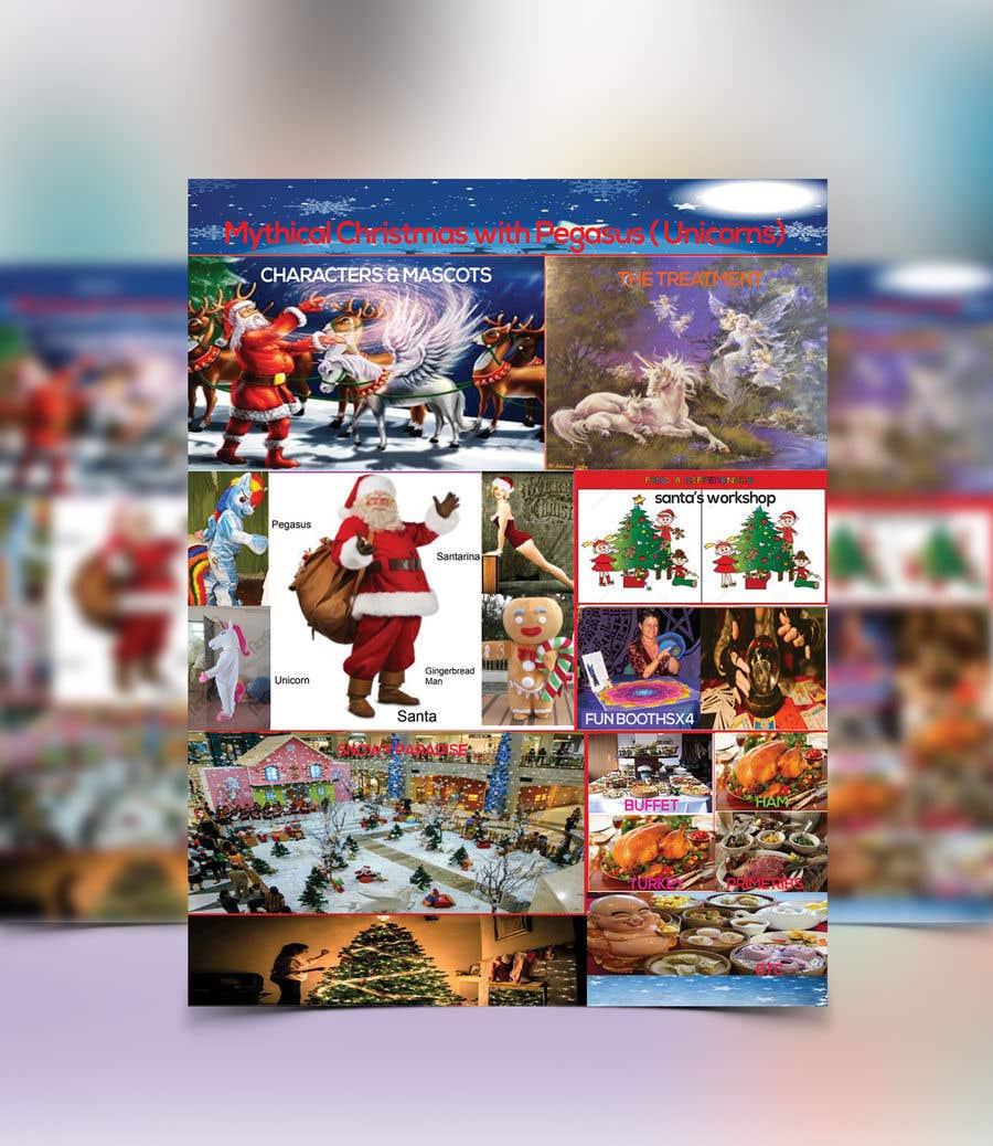 Příspěvek č. 34 do soutěže Design Christmas Carnival Marketing Material