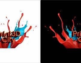 VaisakhaBespoke tarafından Design a 3D Looking Logo - Print3D City için no 11