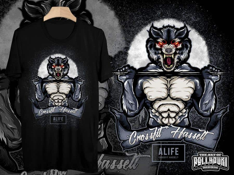5094cf1fa Entry #62 by Isodexxx for Design a T shirt for a CrossFit box ...