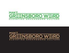 "DesignInverter tarafından LOGO ""Make Greensboro Weird"" için no 283"