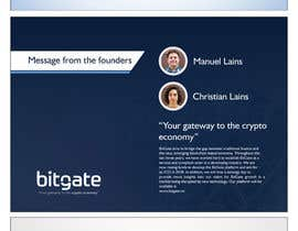 #7 for Design a Powerpoint Presentation for BitGate by muhammadafzaal24