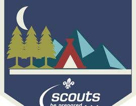 #20 for Design a Logo for a Scout unit by guessasb