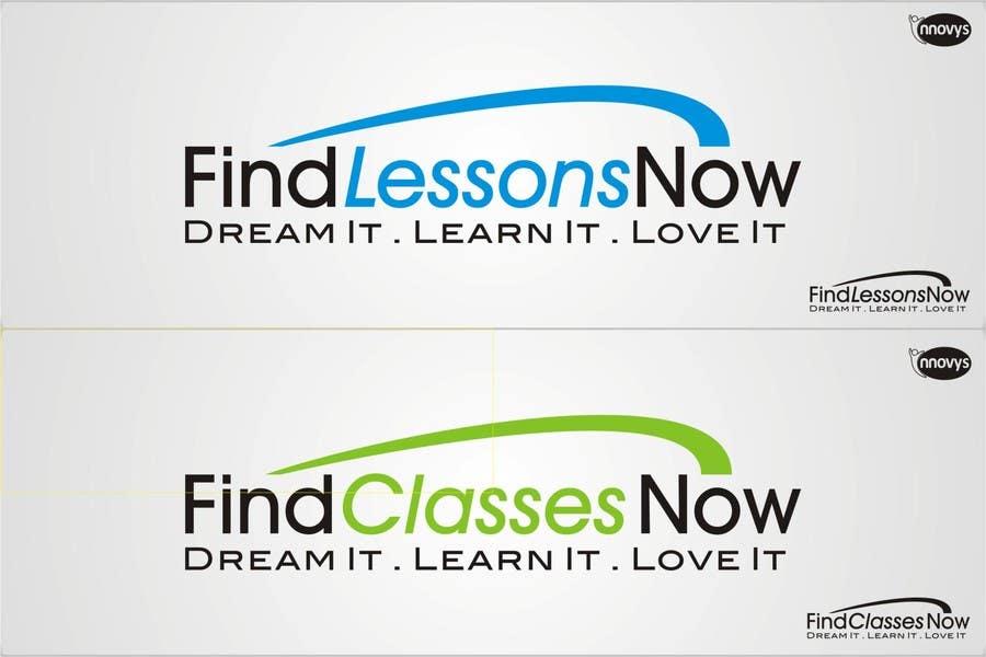Конкурсная заявка №286 для Logo Design for FindLessonsNow/ FindClassesNow