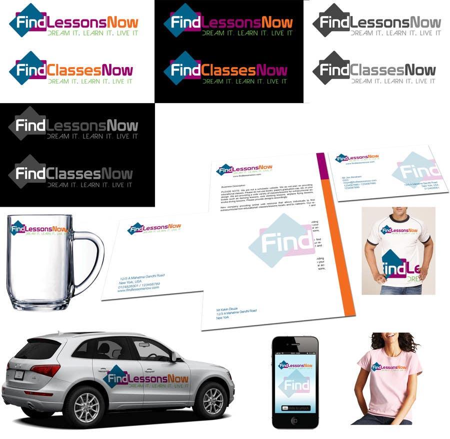 Конкурсная заявка №222 для Logo Design for FindLessonsNow/ FindClassesNow