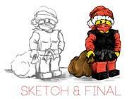 Graphic Design Entri Peraduan #38 for Graphic Design for Christmas Ninja Outfit
