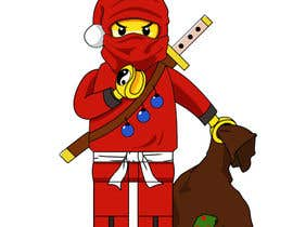 #48 para Graphic Design for Christmas Ninja Outfit por Milos009